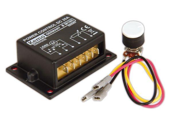 PWM-Leistungsregler KEMO M195 - Produktbild 1