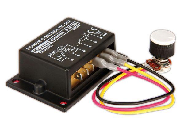PWM-Leistungsregler KEMO M195 - Produktbild 2