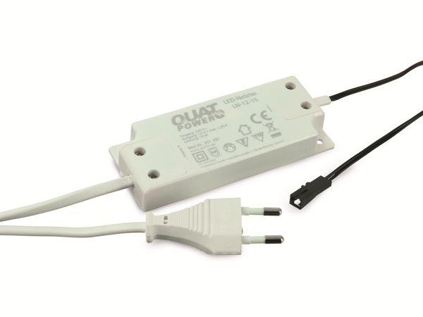 LED-Netzteil QUATPOWER LN-12-15, 12 V-/15 W