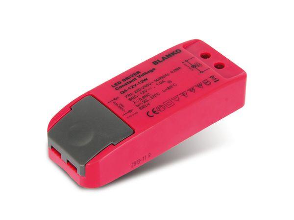 LED-Schaltnetzteil BLANKO Q4-12V-12W, 12 V-, 12 W