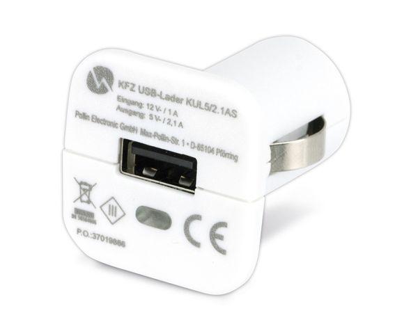 KFZ USB-Lader QUATPOWER KUL5/2.1AS, 2,1 A, weiß