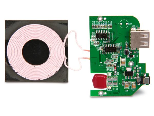 Induktions-Lademodul QuatPower WCTX-12USB - Produktbild 1