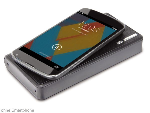 Wireless Charging USB-Powerbank QuatPower UPB-WC-8000, 8000 mAh - Produktbild 1