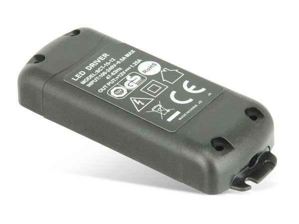LED-Schaltnetzteil SCT-15-12, 12 V-/1,25 A, 15 W - Produktbild 1