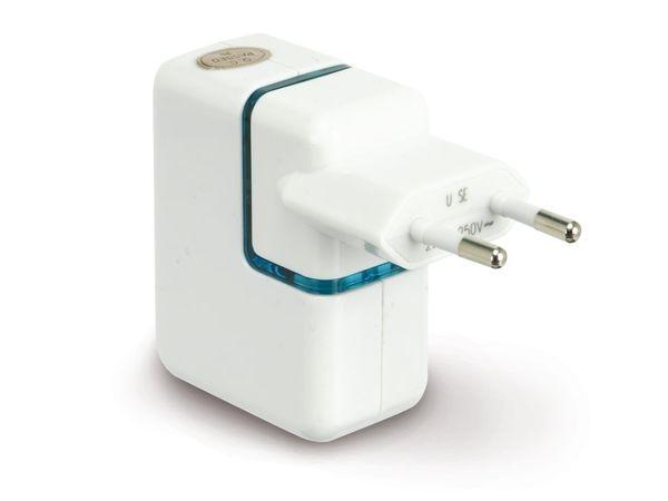 USB-Ladegerät für Steckdose/KFZ, sowie Länder der EU, UK, USA, AUS - Produktbild 1