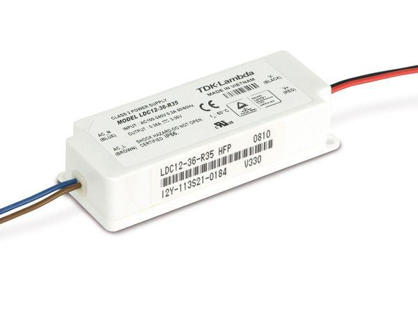 LED-Schaltnetzteil TDK-LAMBDA LDC12-36-R35, 350 mA