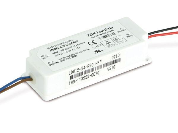 Schaltnetzteil TDK-LAMBDA LDV12-24-R50, 24 V-/0,5 A, IP66