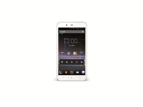 Dual-SIM Touchscreen-Handy AVUS A24, weiß, B-Ware - Produktbild 1