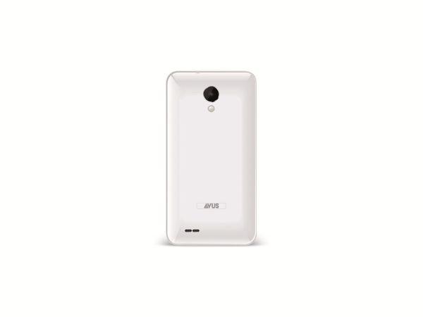 Dual-SIM Touchscreen-Handy AVUS A24, weiß, B-Ware - Produktbild 2