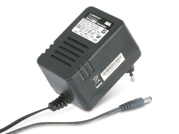 Steckernetzteil LINKSYS AD12/1C (AM-1201000V), 12 V-/1 A