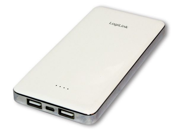 USB-Powerbank LOGILINK PA0063, 12.000 mAh