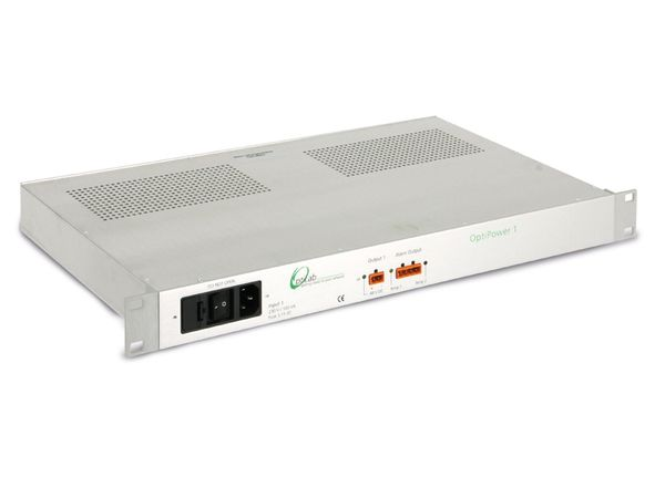 """19"""" Stromversorgung OPTILAB OptiPower 1, 48 V-/2,2 A, gebraucht - Produktbild 1"""