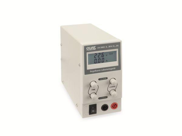 Regelbares Labornetzgerät QUATPOWER LN-3003, 0...30 V-/0...3 A