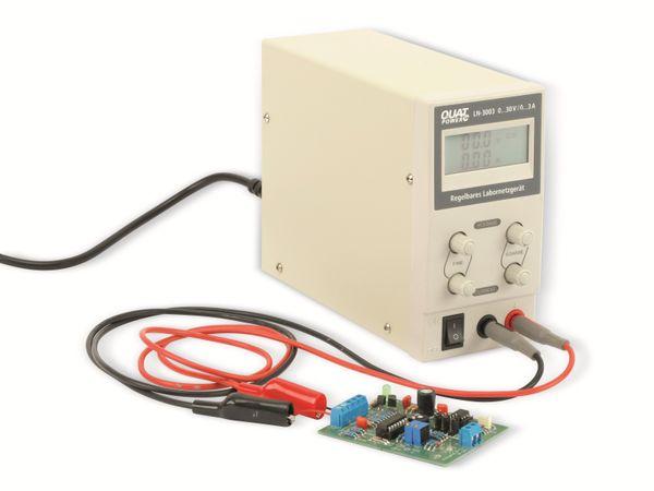 Regelbares Labornetzgerät QUATPOWER LN-3003, 0...30 V-/0...3 A - Produktbild 4