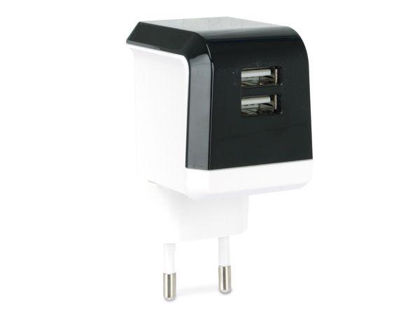 Dual USB-Ladegerät IGO, 5 V-/2,1 A - Produktbild 1