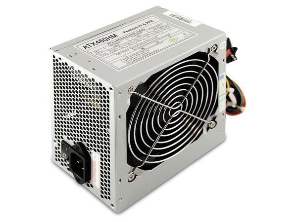 ATX2.0 Computer-Schaltnetzteil HM-460 - Produktbild 2