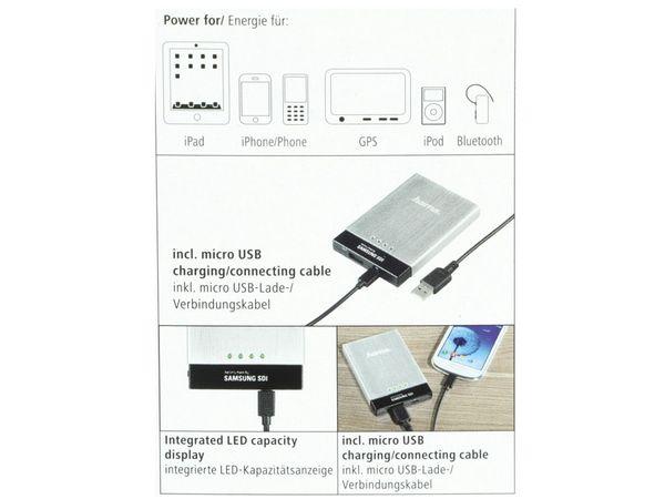 HAMA Universal Power Pack SAMSUNG SDI 3000 mAh - Produktbild 4