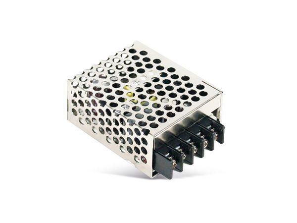 Schaltnetzteil MEANWELL RS-15-24, 24 V-/0,625 A