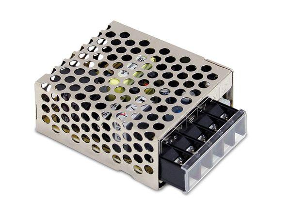 Schaltnetzteil MEANWELL RS-15-12, 12 V-/1,3 A