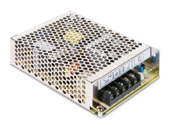 Schaltnetzteil MEANWELL RS-75-24, 24 V-/3,2 A