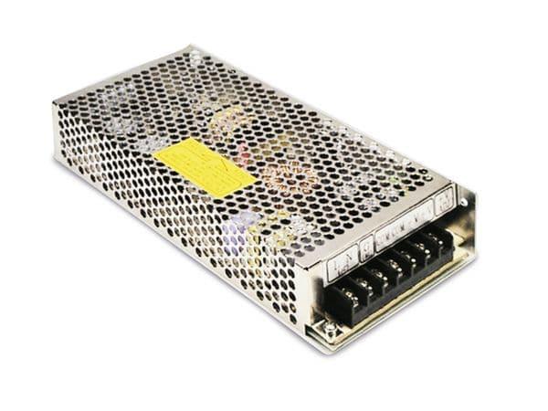 Schaltnetzteil MEANWELL RID-125-1205, 12 V-/9,2 A, 5 V-/3 A