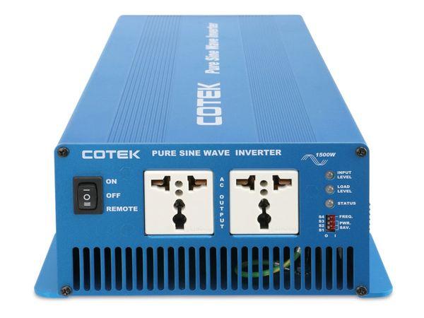 Sinus-Wechselrichter COTEK SK1500-224, 24 V-/230 V~, 1500 W - Produktbild 3