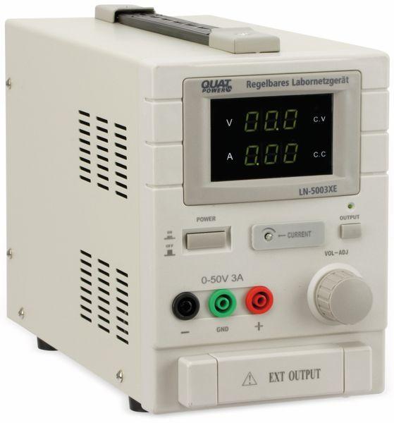 Labornetzgerät QUATPOWER LN-5003XE, 0...50 V-, 0...3 A