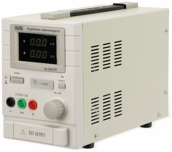Labornetzgerät QUATPOWER LN-5003XE, 0...50 V-, 0...3 A - Produktbild 2