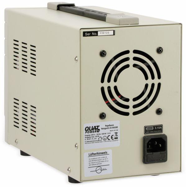 Labornetzgerät QUATPOWER LN-5003XE, 0...50 V-, 0...3 A - Produktbild 3