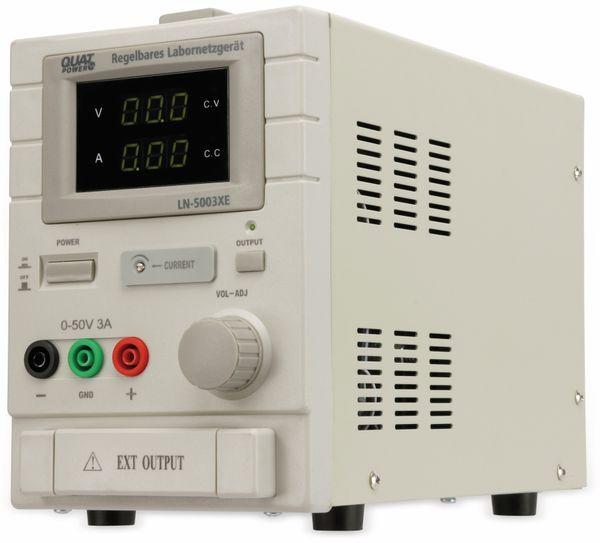 Labornetzgerät QUATPOWER LN-5003XE, 0...50 V-, 0...3 A - Produktbild 4