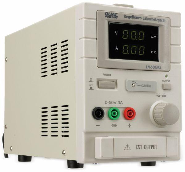 Labornetzgerät QUATPOWER LN-5003XE, 0...50 V-, 0...3 A - Produktbild 5