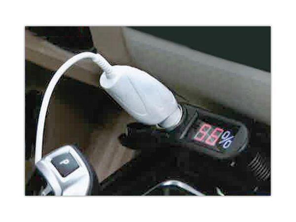 KFZ-Batteriewächter EUFAB, 2in1, 12 V, LED-Display - Produktbild 3
