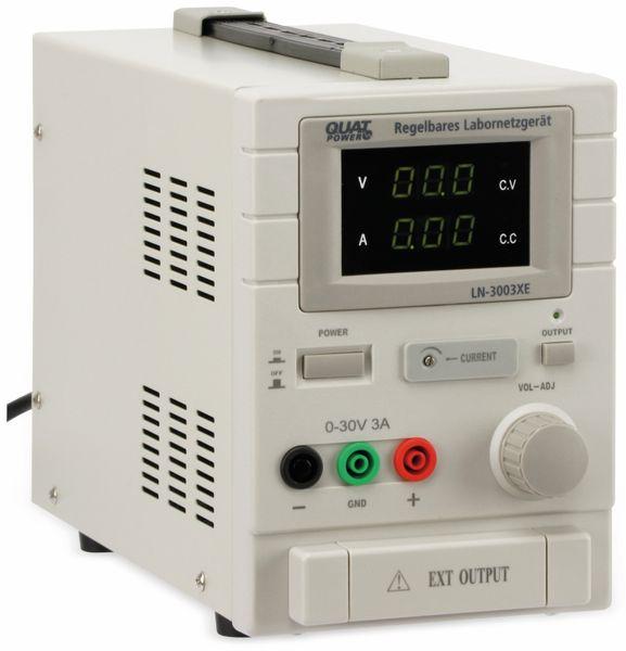 Labornetzgerät QUATPOWER LN-3003XE, 0...30 V-, 0...3 A - Produktbild 1