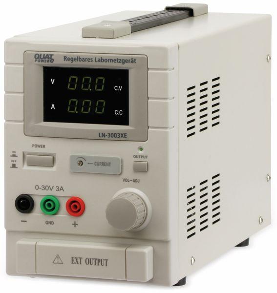Labornetzgerät QUATPOWER LN-3003XE, 0...30 V-, 0...3 A - Produktbild 2