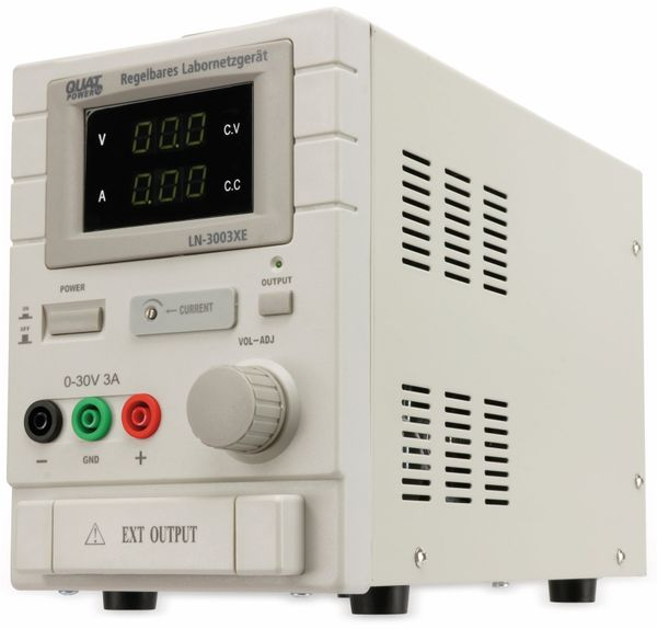 Labornetzgerät QUATPOWER LN-3003XE, 0...30 V-, 0...3 A - Produktbild 5