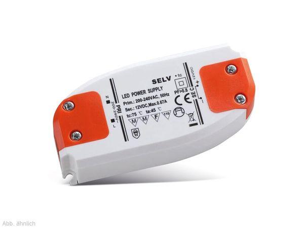 LED-Schaltnetzteil DAYLITE LD12/8-95, 12 V-, 8 W