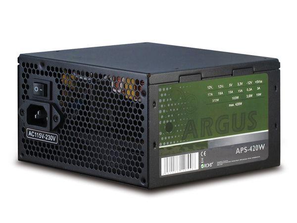 ATX2.31 Computer-Schaltnetzteil ARGUS APS-420W - Produktbild 1
