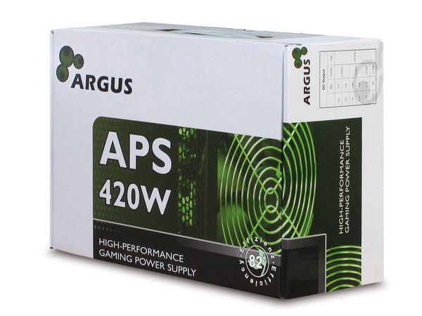 ATX2.31 Computer-Schaltnetzteil ARGUS APS-420W - Produktbild 3