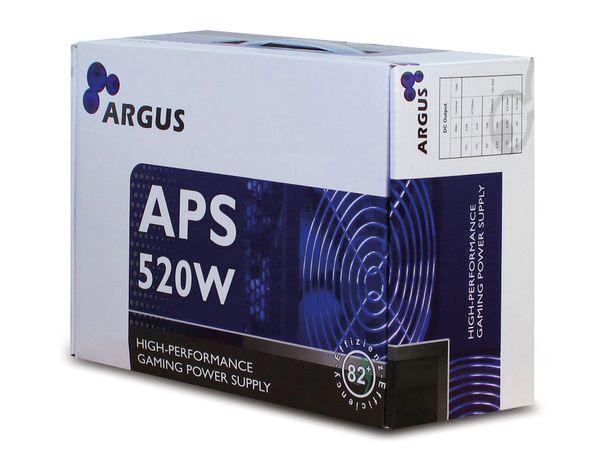 ATX2.31 Computer-Schaltnetzteil ARGUS APS-520W - Produktbild 3