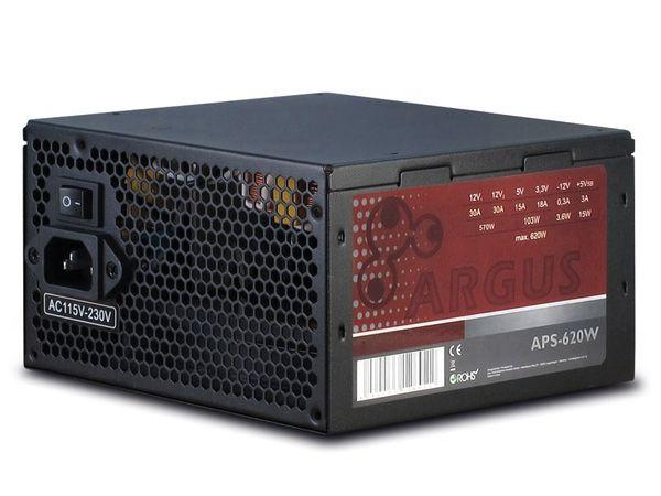 ATX2.31 Computer-Schaltnetzteil ARGUS APS-620W - Produktbild 1