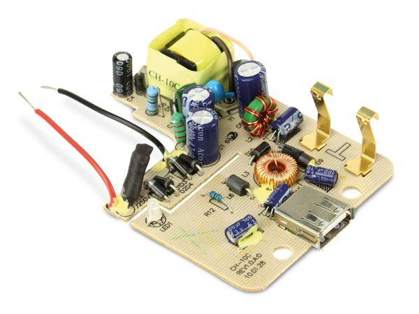 Ladeplatine CH-10C, USB-A & Ladepins - Produktbild 1