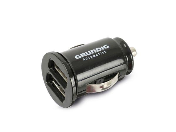 Dual KFZ USB-Lader GRUNDIG, 5 V-/1,5 A, schwarz