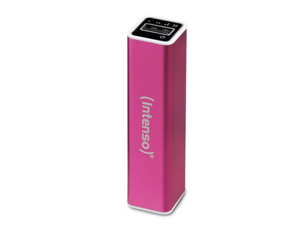USB Powerbank INTENSO 2600 mAh, pink