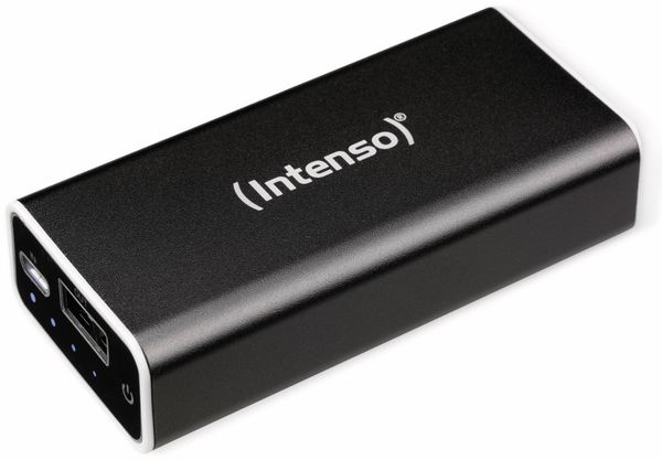 USB Powerbank INTENSO 5200 mAh, schwarz