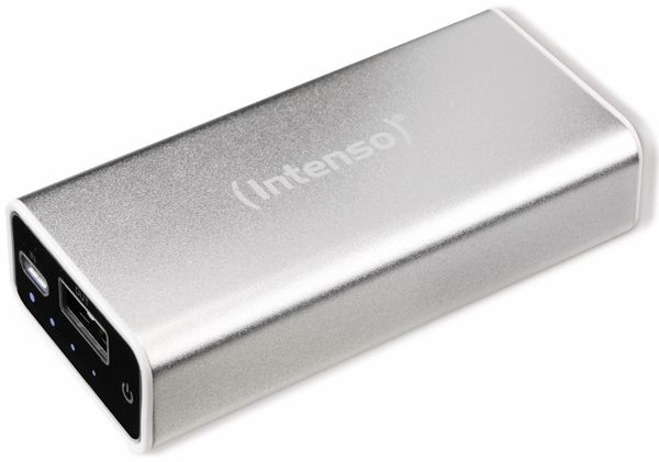 USB Powerbank INTENSO 5200 mAh, silber