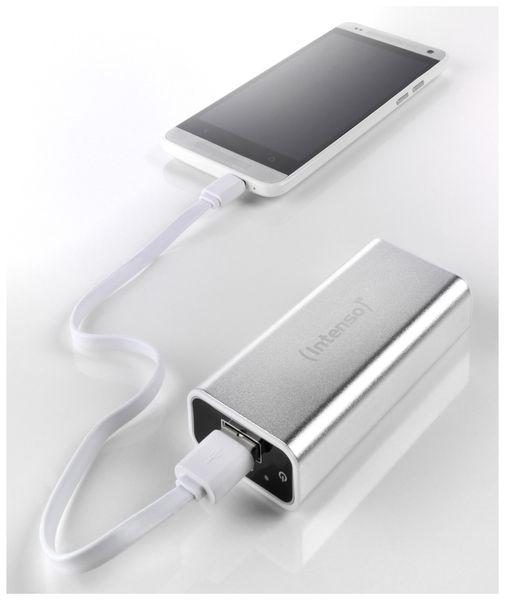 USB Powerbank INTENSO 5200 mAh, silber - Produktbild 4