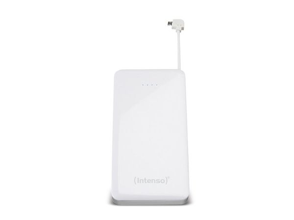 USB Powerbank INTENSO Slim S4000, 4000 mAh, weiß