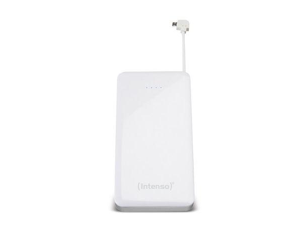 USB Powerbank INTENSO Slim S6000, 6000 mAh, silber