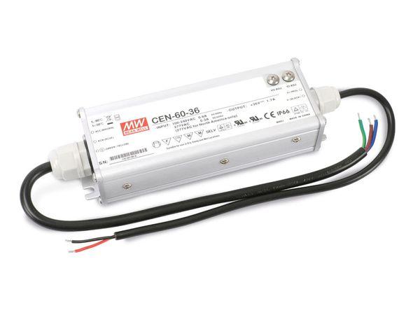 LED-Schaltnetzteil MEANWELL CEN-60-36, 33...40 V-/1,1...1,45 A