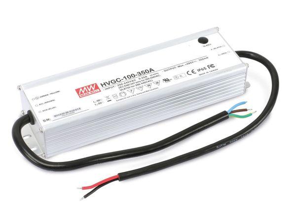 LED-Schaltnetzteil MEANWELL HVGC-100-350A, 350 mA, 100 W - Produktbild 1